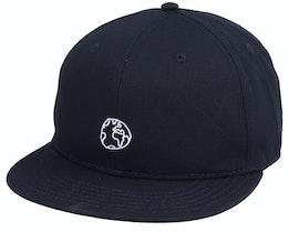 Unconstructed Cap Globe Black Snapback - Dedicated