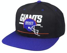 New York Giants Classic NFL Vintage Black/Blue Snapback - Twins Enterprise