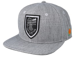 Stock Grey Snapback - Sqrtn