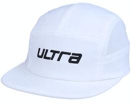 Sven Panel Solid White Cap - Ultra