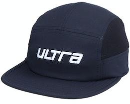 Sven Panel Solid Black Cap - Ultra
