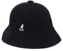Bermuda Casual Black Bucket - Kangol