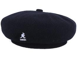 Wool Jax Black Beret - Kangol