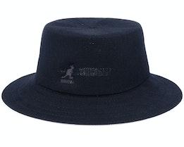 Tropic Rap Hat Black Bucket - Kangol