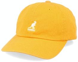 Washed Baseball Marigold Adjustable - Kangol