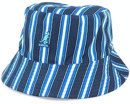 Double Pattern Bucket Navy Bucket - Kangol