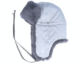 Quilted Trapper Light Grey Trapper - Kangol