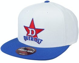 Detroit Stars 400 Series White/Royal Snapback - American Needle