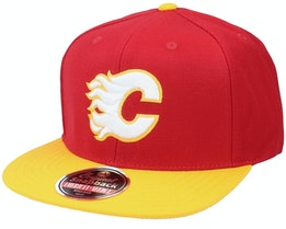Calgary Flames 400 Series Red/Gold Snapback - American Needle