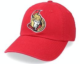 Ottawa Senators Blue Line Red Dad Cap - American Needle