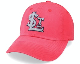 St: Louis Terriers Luther Red Dad Cap - American Needle