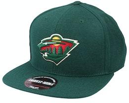 Minnesota Wild 400 Series Dark Green Snapback - American Needle