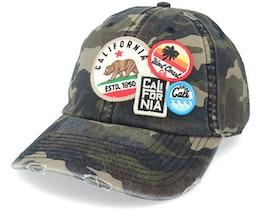 California  Iconic Camo Dad Cap - American Needle
