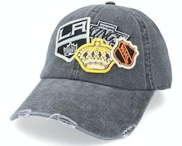 Los Angeles Kings Iconic Black Dad Cap - American Needle