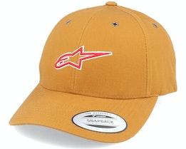 Ageless Base Hat Khaki Adjustable - Alpinestars