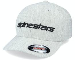 Linear Grey Heather/Black Flexfit - Alpinestars