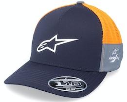 Foremost Tech Hat Navy/Orange Trucker - Alpinestars