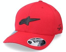 Silent Tech Hat Red Adjustable - Alpinestars