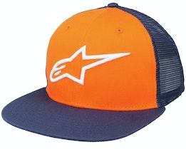Corp Orange/Navy Trucker - Alpinestars