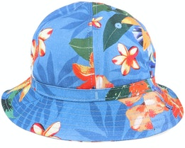Cooperman Summer Floral Heaven Blue Bucket - Herschel
