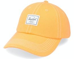 Sylas Classic Blanc De Blanc Blazing Orange Denim Dad Cap - Herschel