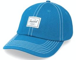 Sylas Classic Moroccan Blue/White Dad Cap - Herschel