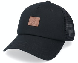 Shelton Cap Black Trucker - Coal