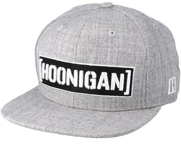 Censor Bar Grey Snapback - Hoonigan