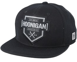 Bracket Black/Black Snapback - Hoonigan