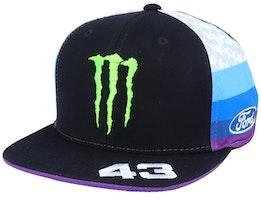 Ken Block 19 Monster Black/Multi Snapback - Hoonigan