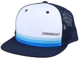 Horizon White/Navy Trucker - Hoonigan