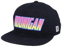 Super Charged Black Snapback - Hoonigan