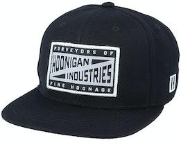 Pit Stop Black Snapback - Hoonigan