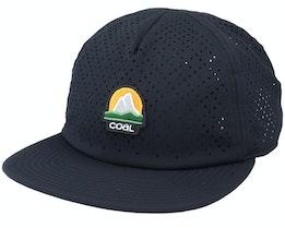 Chuckanut Cap Black Strapback - Coal