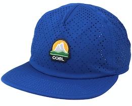 Chuckanut Cap Blue Strapback - Coal