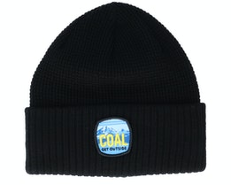 Tumalo Beanie Black Cuff - Coal