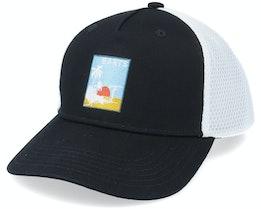 Wattle Cap Black/White Trucker - Barts