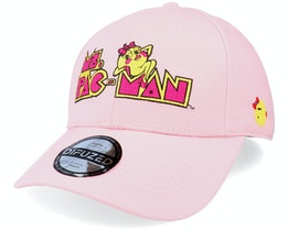 Ms. Pac-Man Vintage Pink Adjustable - Difuzed