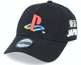Sony Playstation Curved Bill Black Adjustable - Difuzed