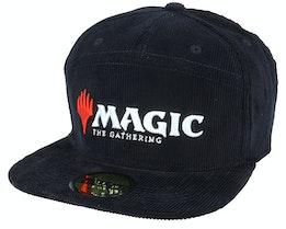 Magic: The Gathering 7 Panel Core Black Snapback - Difuzed
