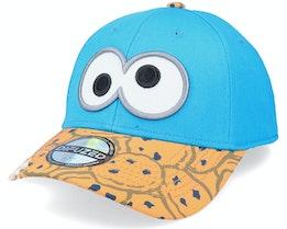 Sesamestreet Cookie Monter Bite Blue Adjustable - Difuzed