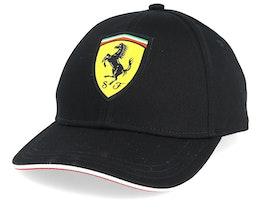 Kids Scuderia Ferrari Classic Black Adjustable - Formula One