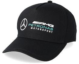 Racer Cap Black Adjustable - Mercedes