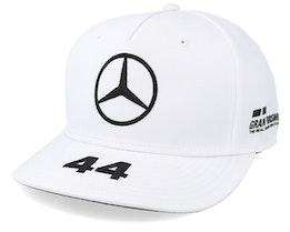 Mercedes AMG Petronas L.Hamilton White  Adjustable - Formula One
