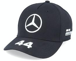 Kids Mercedes Lewis Driver Black Adjustable - Formula One