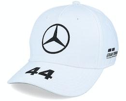 Kids Mercedes Lewis Driver Cap 2 White Adjustable - Formula One