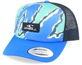 Bb Trucker Cap Blue Aop W/ Black Trucker - O'Neill