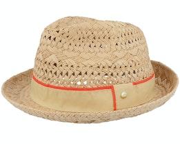 Bm Fedora Hat Chino Beige Straw Hat - O'Neill