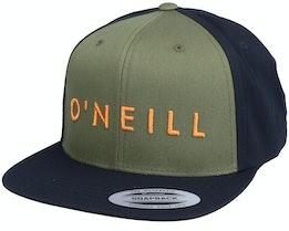 Yambao Cap Military Green/Black Snapback - O'Neill