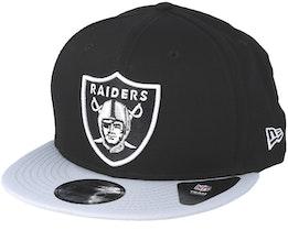Las Vegas Raiders NFL Cotton 9fifty Black/Silver Snapback - New Era